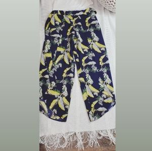 Fashion Summer cut Out Tie-Up Pants